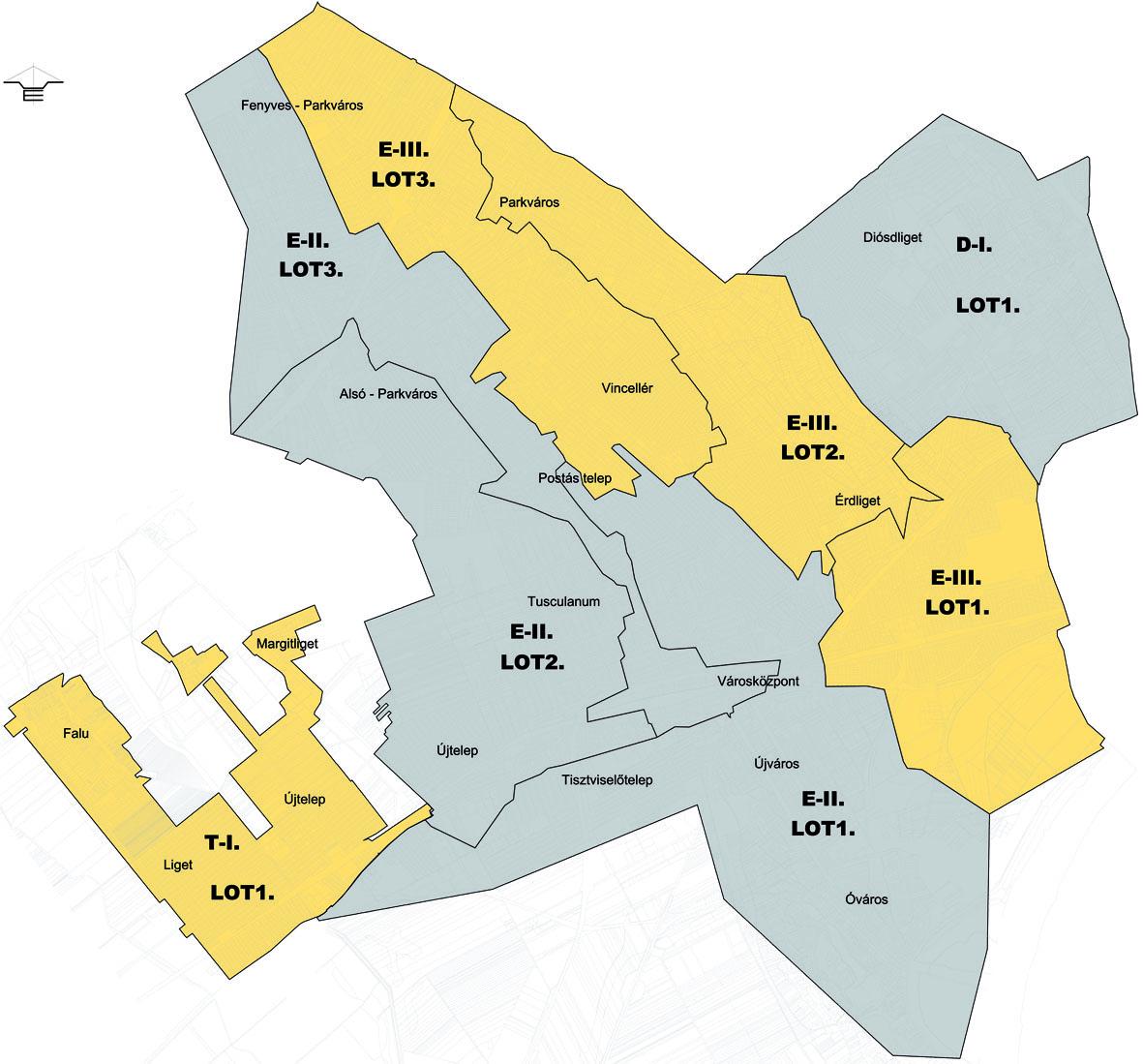 érd parkváros térkép Érden három ütemben, több részegységre bontva végzik majd a  érd parkváros térkép